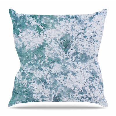 Frost by Will Wild Throw Pillow Size: 20 H x 20 W x 4 D