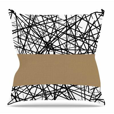 Kava by Trebam Throw Pillow Size: 26 H x 26 W x 4 D