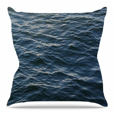 Deep Water by Suzanne Carter Throw Pillow Size: 18 H x 18 W x 4 D