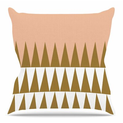 Geo by Suzanne Carter Throw Pillow Size: 18 H x 18 W x 4 D