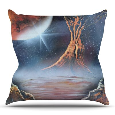 Embark by Infinite Spray Art Throw Pillow