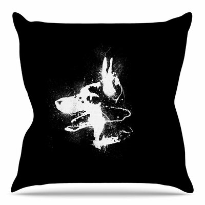 Watchdog by BarmalisiRTB Throw Pillow Size: 20 H x 20 W x 4 D