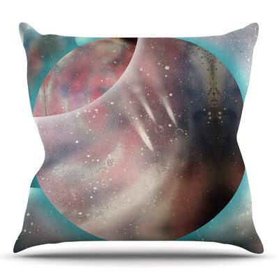 Dimensions by Infinite Spray Art Throw Pillow