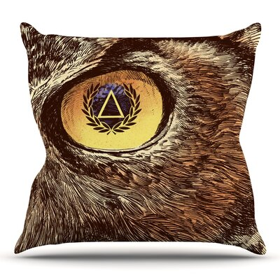 Sharp Eye by BarmalisiRTB Throw Pillow