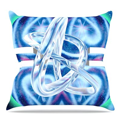 New Era by Infinite Spray Art Throw Pillow