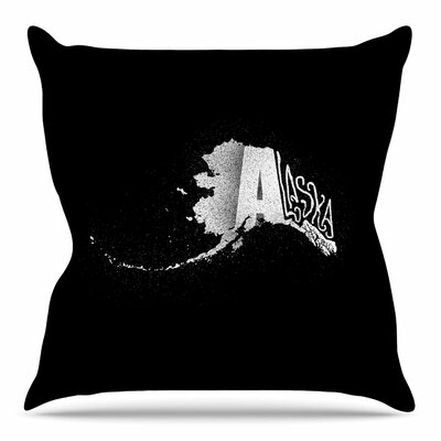 Alaska by BarmalisiRTB Throw Pillow Size: 16 H x 16 W x 4 D