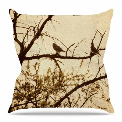 Golden by Sylvia Coomes Throw Pillow Size: 16 H x 16 W x 4 D