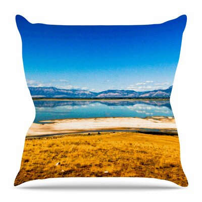 Reflection by Sylvia Coomes Throw Pillow Size: 16 H x 16 W x 4 D
