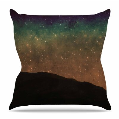 Star Light by Sylvia Coomes Throw Pillow Size: 26 H x 26 W x 4 D