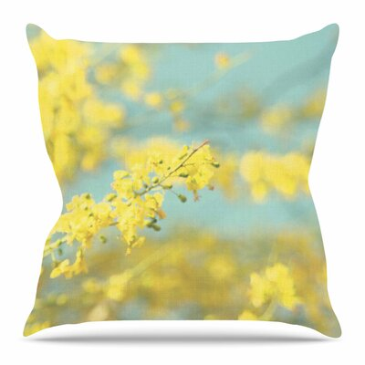 Blooms 2 by Sylvia Coomes Throw Pillow Size: 16 H x 16 W x 4 D