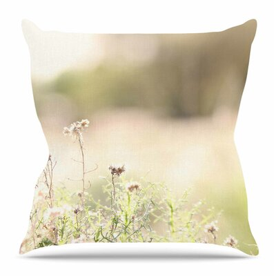 Shimmering Light by Sylvia Coomes Throw Pillow Size: 20 H x 20 W x 4 D