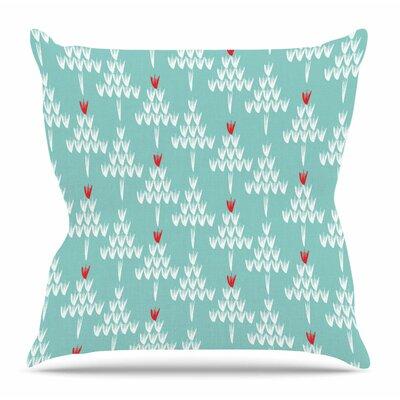 Christmas by Zara Martina Mansen Throw Pillow Size: 18 H x 18 W x 4 D