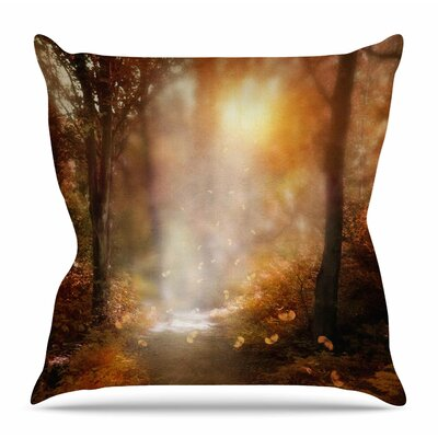 Make it Happen by Viviana Gonzalez Throw Pillow Size: 16 H x 16 W x 4 D