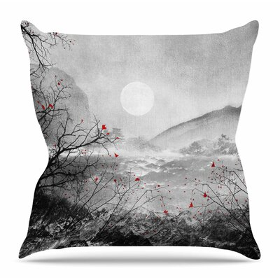 The Sounds and Poems, Chap by Viviana Gonzalez Throw Pillow Size: 18 H x 18 W x 4 D