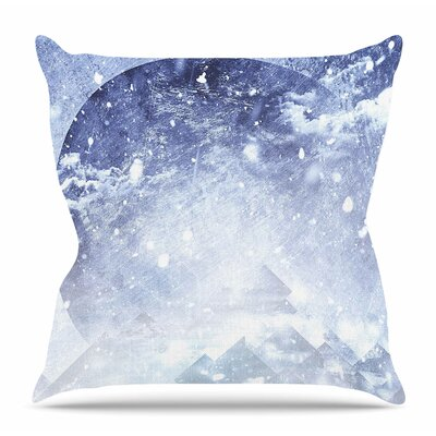 Even Mountains Get Cold by Ulf Harstedt Throw Pillow Size: 26 H x 26 W x 4 D