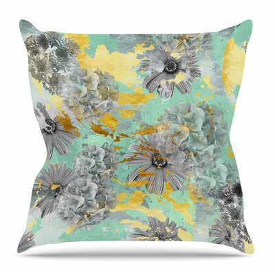 Garden Throw Pillow Size: 16 H x 16 W x 4 D