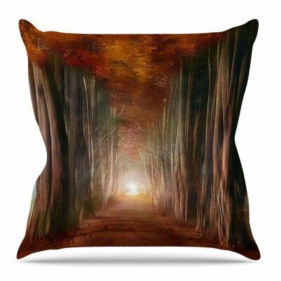 Dreams Come True by Viviana Gonzalez Throw Pillow Size: 20 H x 20 W x 4 D