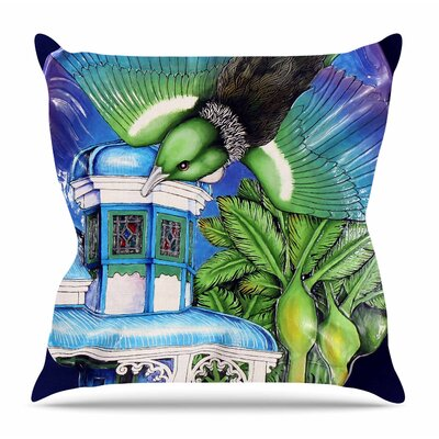 New Zealand by Vinny Thompson Throw Pillow Size: 20 H x 20 W x 4 D