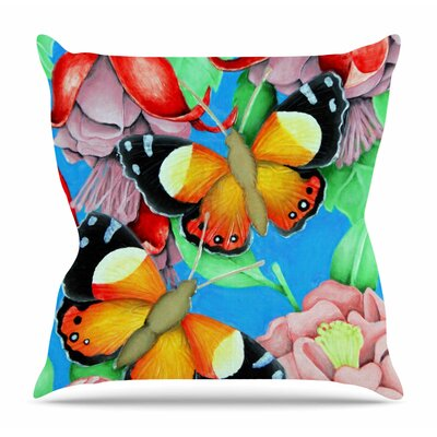 Admiral by Vinny Thompson Throw Pillow Size: 20 H x 20 W x 4 D