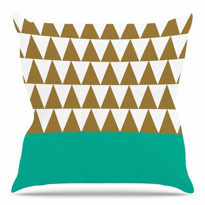 Geo by Suzanne Carter Throw Pillow Size: 20 H x 20 W x 4 D