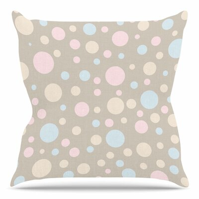 Lotty by Suzanne Carter Throw Pillow Size: 16 H x 16 W x 4 D