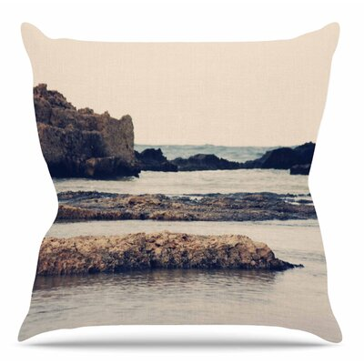 Mediterranean II by Sylvia Coomes Throw Pillow Size: 26 H x 26 W x 4 D