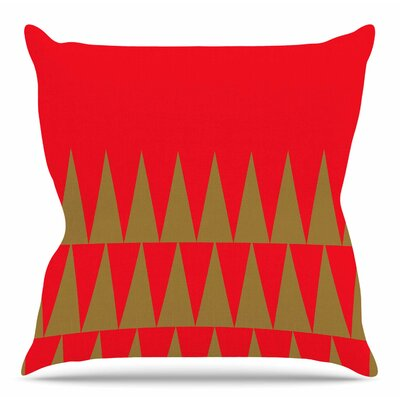 Christmas 1 by Suzanne Carter Throw Pillow Size: 20 H x 20 W x 4 D