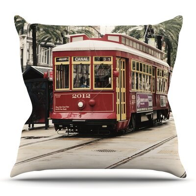 Beach Time by Sylvia Cook Throw Pillow