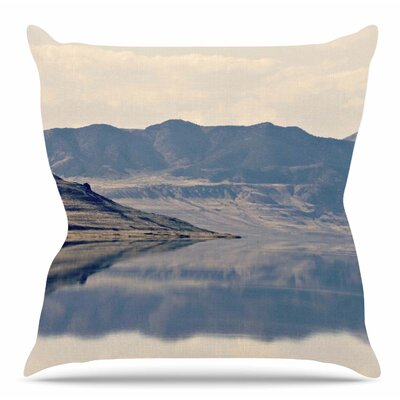 Reflective 2 by Sylvia Coomes Throw Pillow Size: 16 H x 16 W x 4 D