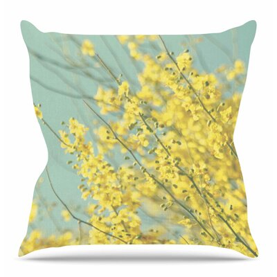 Blooms by Sylvia Coomes Throw Pillow Size: 18 H x 18 W x 4 D