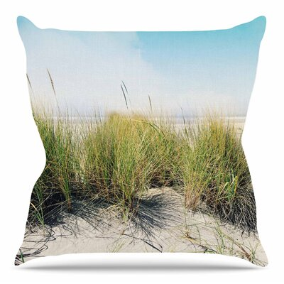 Dune Grass by Sylvia Cook Throw Pillow