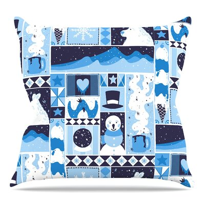Winter by Tobe Fonseca Throw Pillow