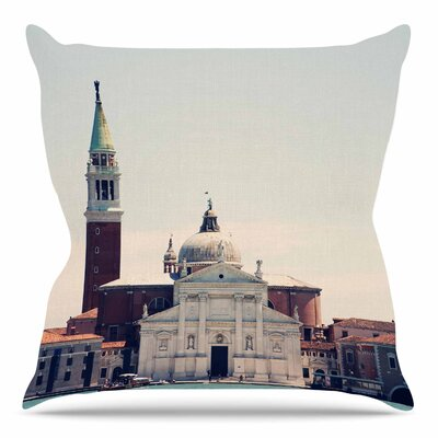 Venice 7 by Sylvia Coomes Throw Pillow Size: 20 H x 20 W x 4 D
