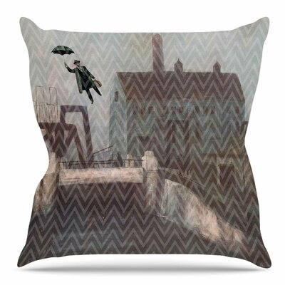 Away by Suzanne Carter Throw Pillow