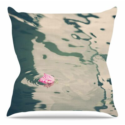 Venetian Rose by Sylvia Coomes Throw Pillow Size: 16 H x 16 W x 4 D