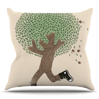 Run for Your Life by Tobe Fonseca Throw Pillow