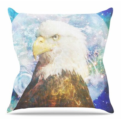 Space Cadet2 by Suzanne Carter Throw Pillow Size: 20 H x 20 W x 4 D