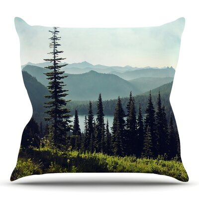 Discover Your Northwest by Sylvia Cook Throw Pillow