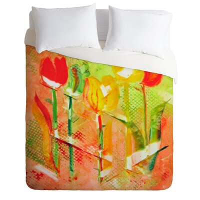 Citrus Tulips Duvet Cover Collection
