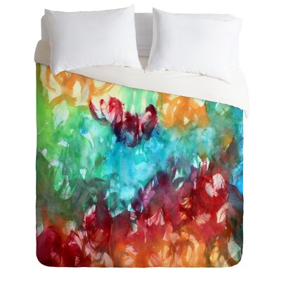 Constant Motion by Laura Trevey Lightweight Duvet Cover Size: Queen