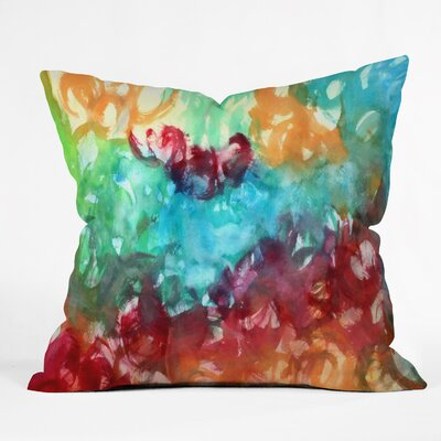 Constant Motion by Laura Trevey Indoor/Outdoor Throw Pillow Size: 26 H x 26 W x 7 D