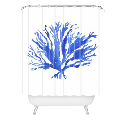 Sea Coral by Laura Trevey Shower Curtain