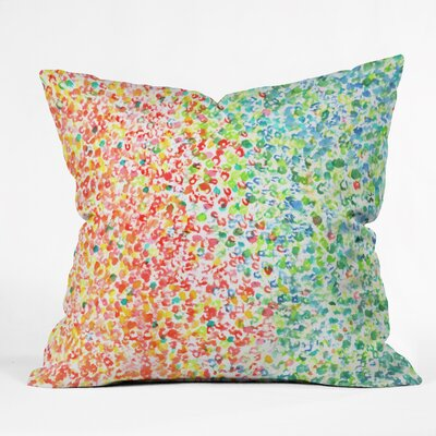 Colors Outdoor by Laura Trevey Throw Pillow Size: 16 H x 16 W x 4 D