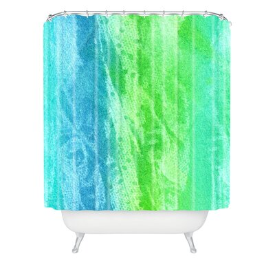 Caribbean Sea by Laura Trevey Shower Curtain