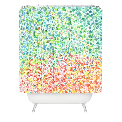 Cool To Warm by Laura Trevey Shower Curtain