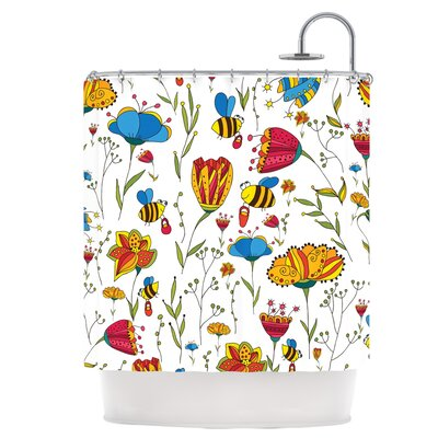 Bees Shower Curtain