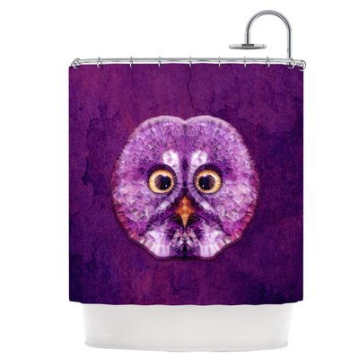 Hoot Shower Curtain