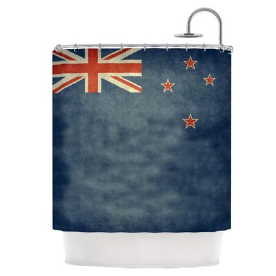 Flag of New Zealand Shower Curtain