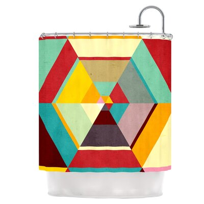 Color Mess Shower Curtain