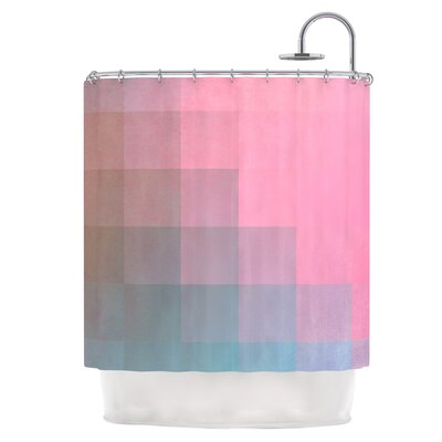 Pixel Surface Shower Curtain